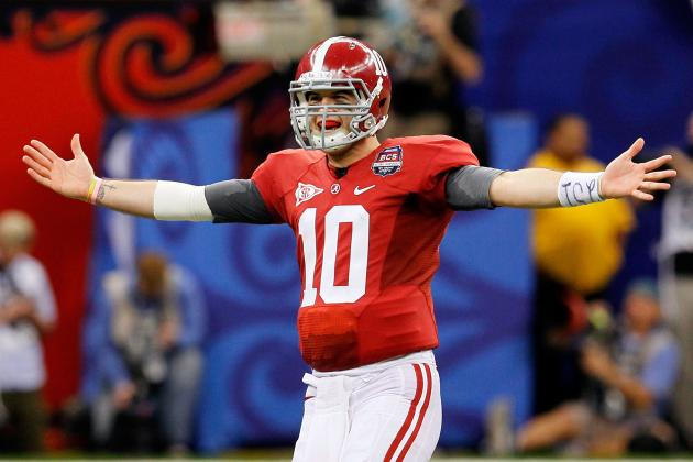 Alabama Football: Why Crimson Tide Must Let AJ McCarron Air It out More
