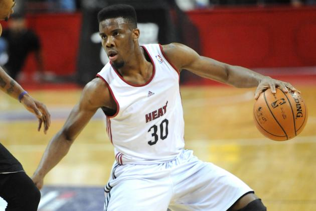 Full Summer League Grades for Miami Heat