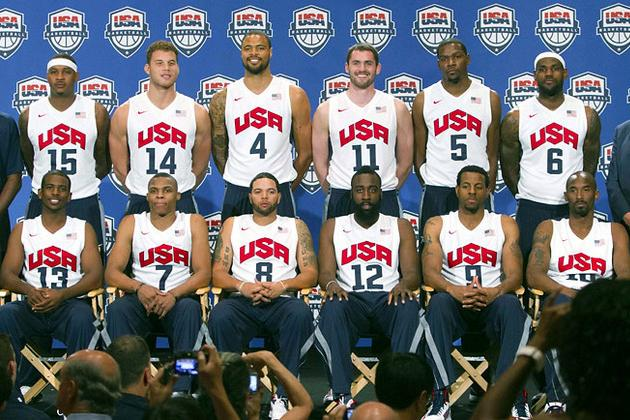 LeBron James's Importance to Team USA: Ranking the Roster