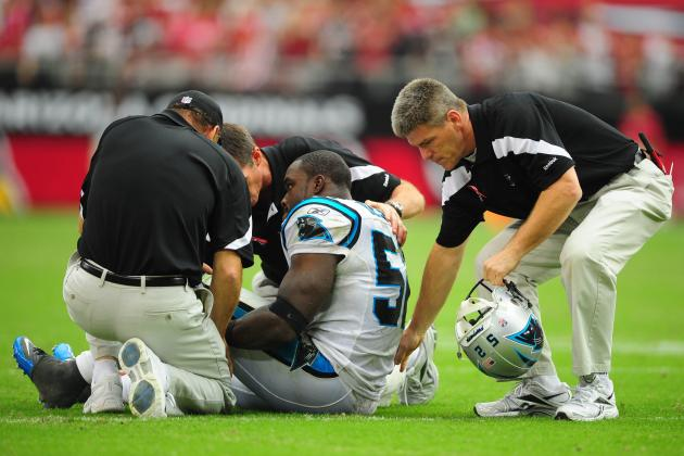 5 Carolina Panthers Who Cannot Afford to Get Hurt in 2012