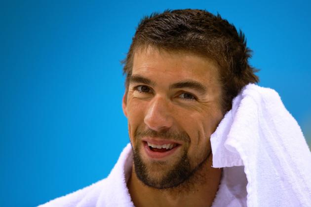 Michael Phelps and Most Intriguing Athletes on 2012 US Olympic Swimming Team
