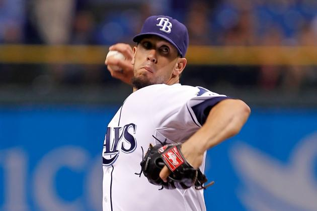 MLB Trade Rumors: Tampa Bay Rays Discuss James Shields with LA Angels