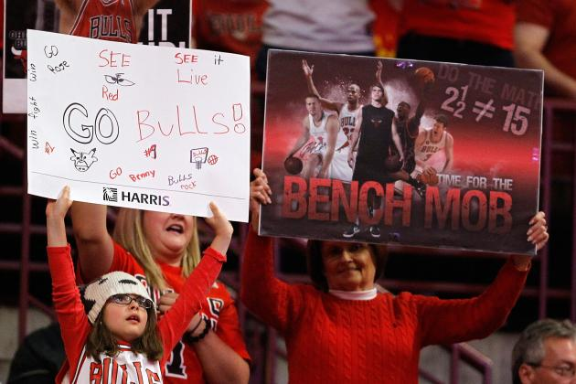 Chicago Bulls: Is the New Bench's Ceiling Higher Than the Departed Bench Mob's?