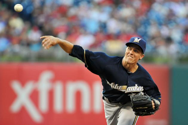 MLB Trade Rumors: Texas Rangers and 7 Teams in the Zack Greinke Sweepstakes