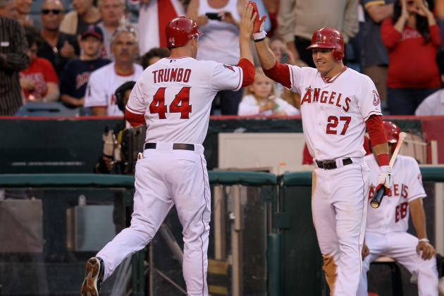 Where Do Trumbo-Trout-Pujols Rank Among MLB's Best Trios?