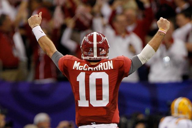Alabama's 10 Best in 2012