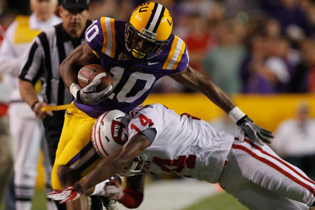 LSU Football: Breaking Down Highs and Lows of WR Russell Shepard's Skill Set