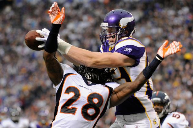 Minnesota Vikings: Predicting Stat Leaders for Every Receiving Category in 2012