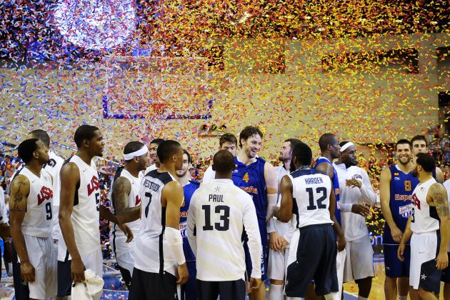 Who Would Win a Tournament Between Every USA Hoops 'Dream Team'?