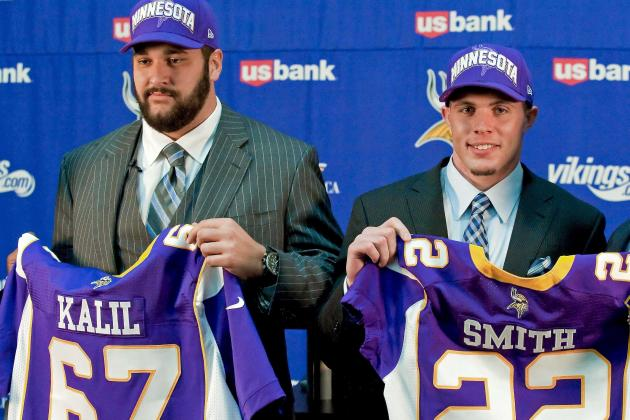 Minnesota Vikings 2012: Ranking the Vikings Rookies by Immediate Impact in 2012