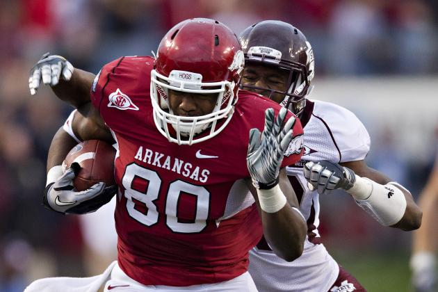 Arkansas Football: What You Need to Know About Razorbacks TE Chris Gragg