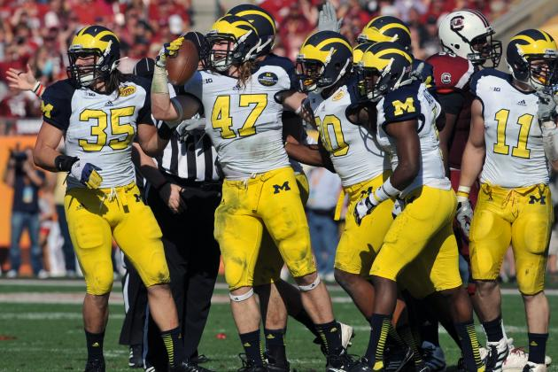Michigan Football:  Projecting Wolverines' 2013 Defensive Depth Chart