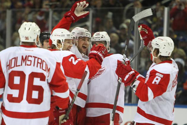 Grading Each NHL Team's Offensive Lines Looking Ahead to 2012-13