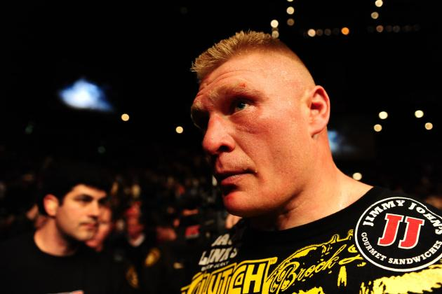 Brock Lesnar and the 10 Most Over-Hyped Fighters in UFC and MMA History