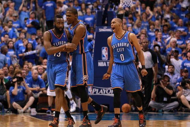 Oklahoma City Thunder 2012-13 Schedule: Monthly Breakdown and W-L Predictions