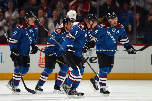 Colorado Avalanche: Highlighting Colorado's Biggest 2012-13 Games