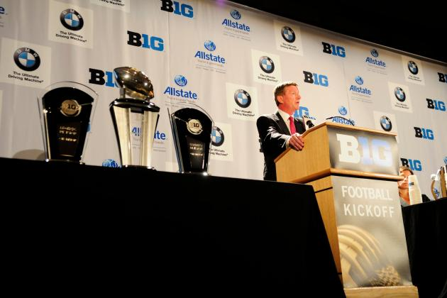 Winners and Losers from Day 2 of Big Ten Media Days