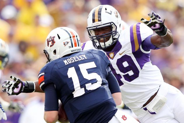 LSU Football: 5 Most Intimidating Players on Tigers 2012 Roster