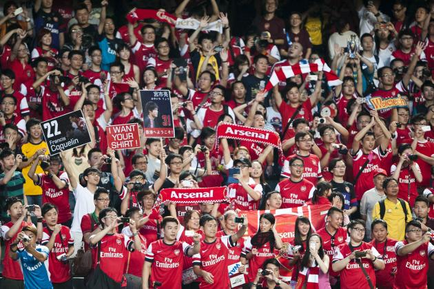 Kitchee FC vs. Arsenal: 6 Things We Learned About the Gunners