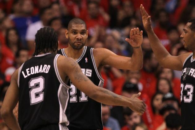 San Antonio Spurs 2012-13 Schedule: Monthly Breakdown and W-L Predictions