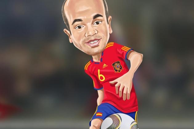 FC Barcelona: 21 Questions We'd Love to Ask Andres Iniesta