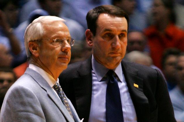 Who's the Better Big-Game Coach: UNC's Roy Williams or Duke's Coach K?