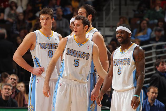 Denver Nuggets 2012-13 Schedule: Monthly Breakdown and W-L Predictions