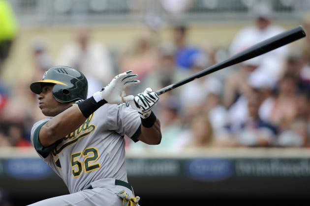 AL MVP Rankings: A's Slugger Yoenis Cespedes Cracks the Top 5