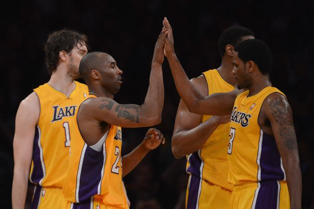 Breaking Down Current Two-Deep Depth Chart for Los Angeles Lakers