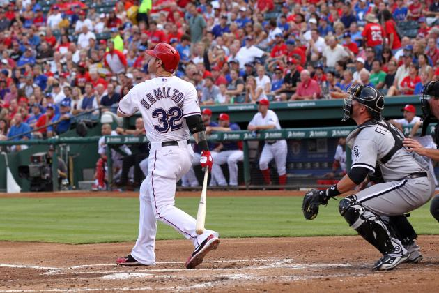 MLB Hitter Power Rankings: Is Josh Hamilton Back After Solid Game vs. Angels?