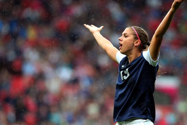 USA Women's Olympic Soccer Team: Alex Morgan and Tournament's Best Players