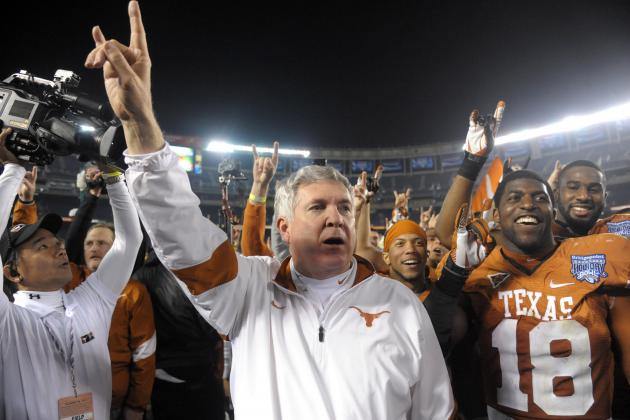 Texas Football: Analyzing Where Mack Brown Ranks Among Current Big 12 Coaches