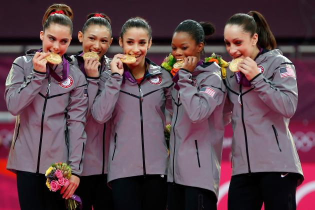 Women's Gymnastics 2012: Comparing the Fab 5 to Polarizing 1996 USA Team