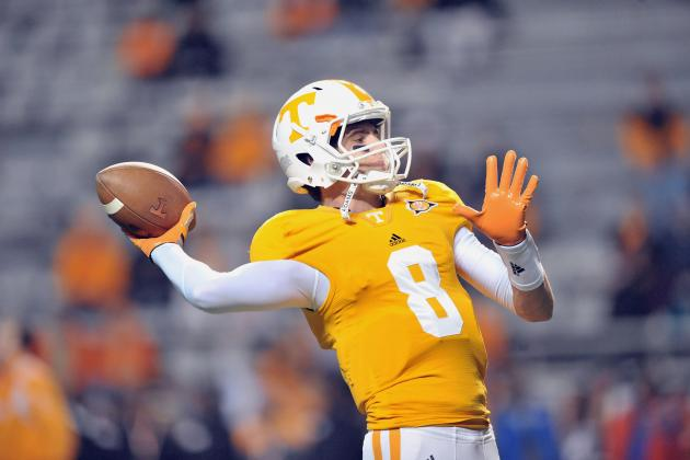 Tennessee Volunteers Football: Analyzing Tyler Bray's Strengths and Weaknesses