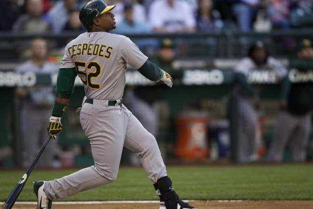 Where Yoenis Cespedes Ranks on List of A's All-Time Rookie Power Hitters