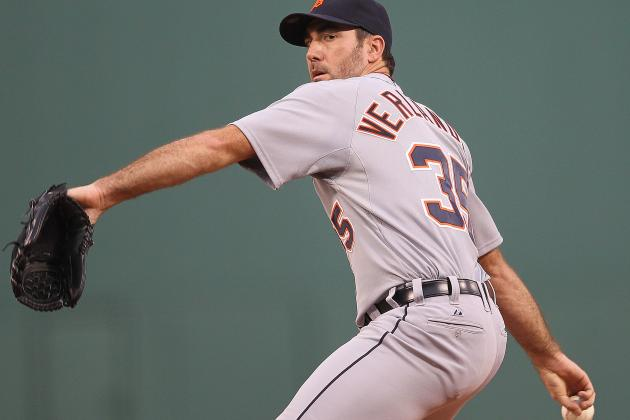 Power Ranking and Grading Each of Justin Verlander's Pitches
