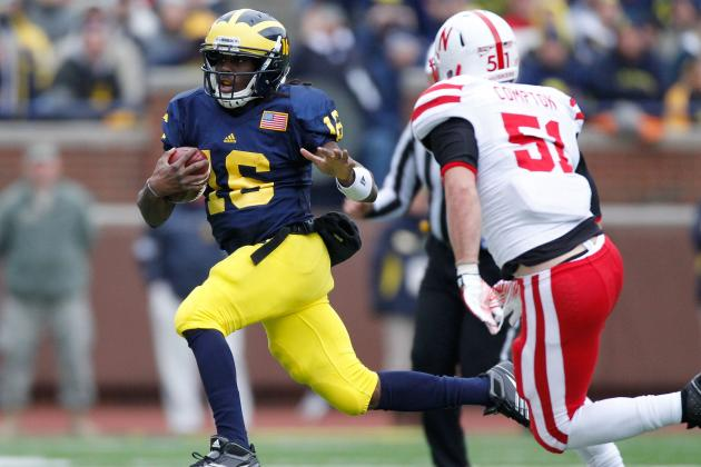 Michigan Football: Mapping out Denard Robinson's Road to the 2012 Heisman Trophy