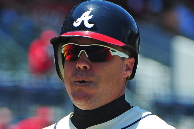Atlanta Braves: Chipper Jones' 10 Biggest Stops on 2nd-Half Farewell Tour