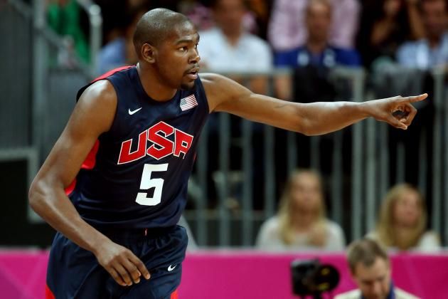 Olympic Basketball Highlights 2012