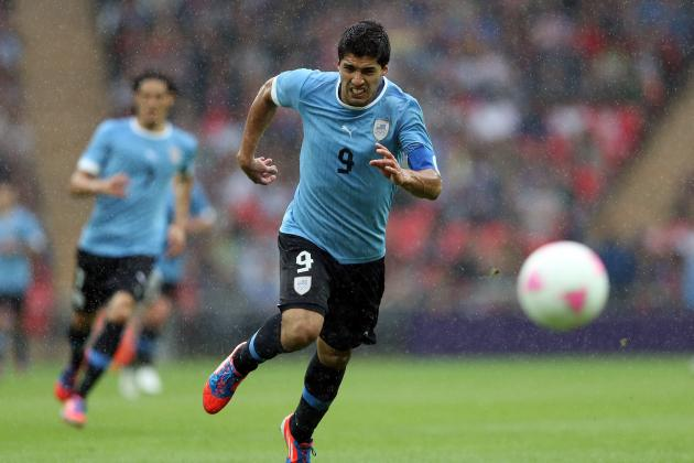 Olympics 2012: 5 Players Who Failed to Shine for Uruguay Men's Soccer