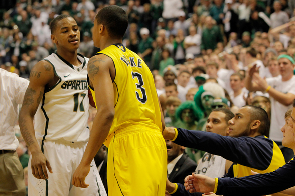 Michigan vs Michigan State Basketball: Contrasting the Squads' Starting Lineups