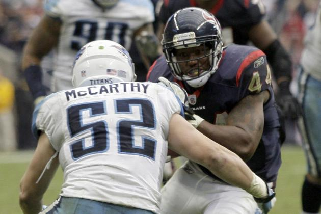 5 Reasons to Draft Ben Tate in Your Fantasy Football League