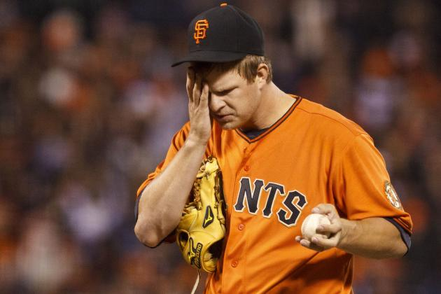 NL Cy Young Award Rankings: Matt Cain Holds Steady in Rough Week for NL Pitchers