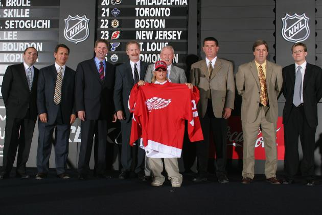 The Detroit Red Wings' 10 Best Prospects Are Ready to Take Flight in NHL