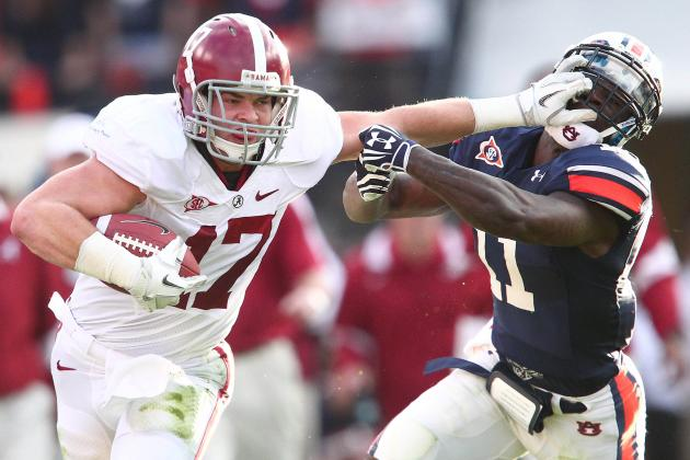 Alabama Football: 5 Advantages Bama Has over Auburn