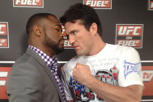 UFC Middleweight Head-to-Toe Breakdown: Rashad Evans and Chael Sonnen