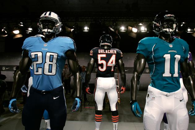 Ranking the Best Looking Nike Jerseys for 2012 NFL Season