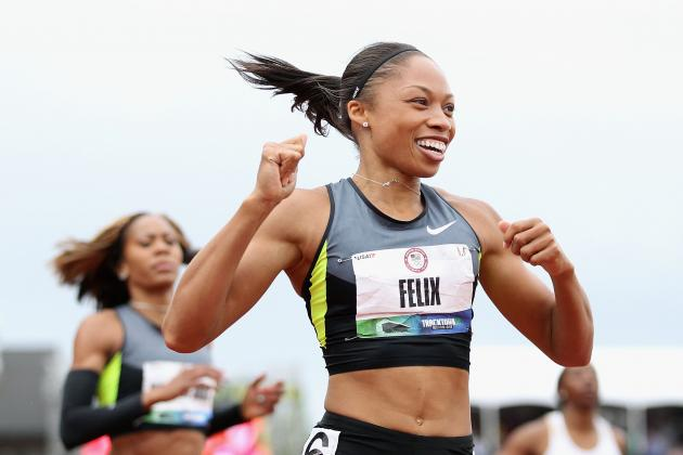 Allyson Felix 2012 Olympics: Results, Analysis and More