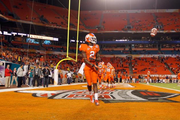 Clemson Football: Ranking Top NFL Talent on Tigers 2012 Roster