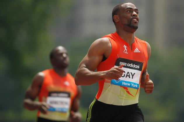 Tyson Gay 2012 Olympics: Results, Analysis and More
